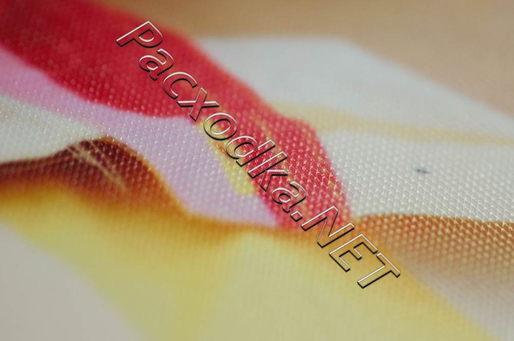 Структура покрытия фотобумаги IST Premium Шелк 260г/м